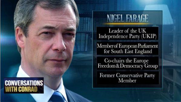 Conversations with Conrad: Nigel Farage