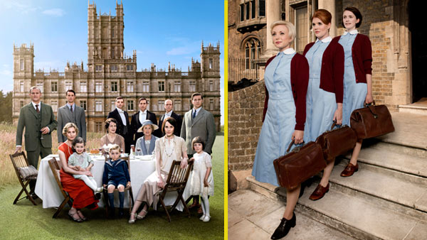 Downton Abbey S6 - Call the Midwife S4 Combo