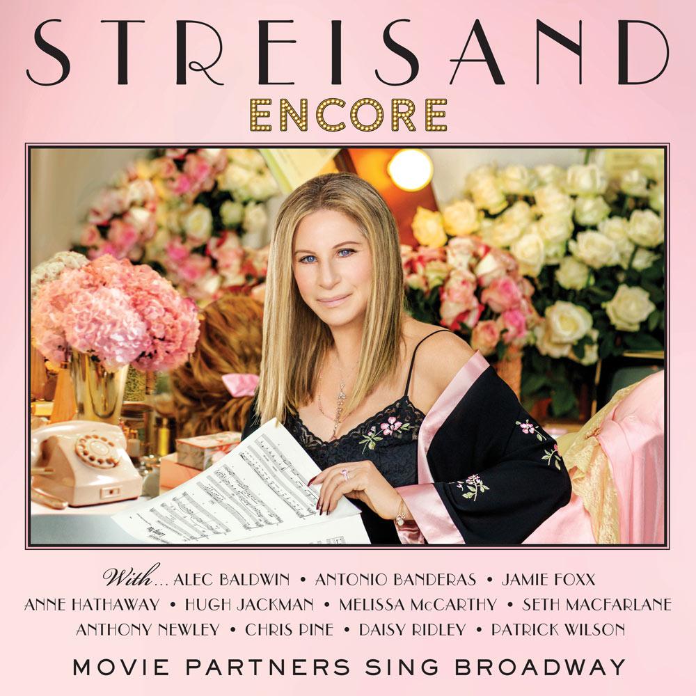 Streisand Encore: Movie Partners Sing Broadway Album Cover