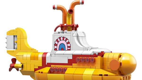 Yellow Submarine - LEGO