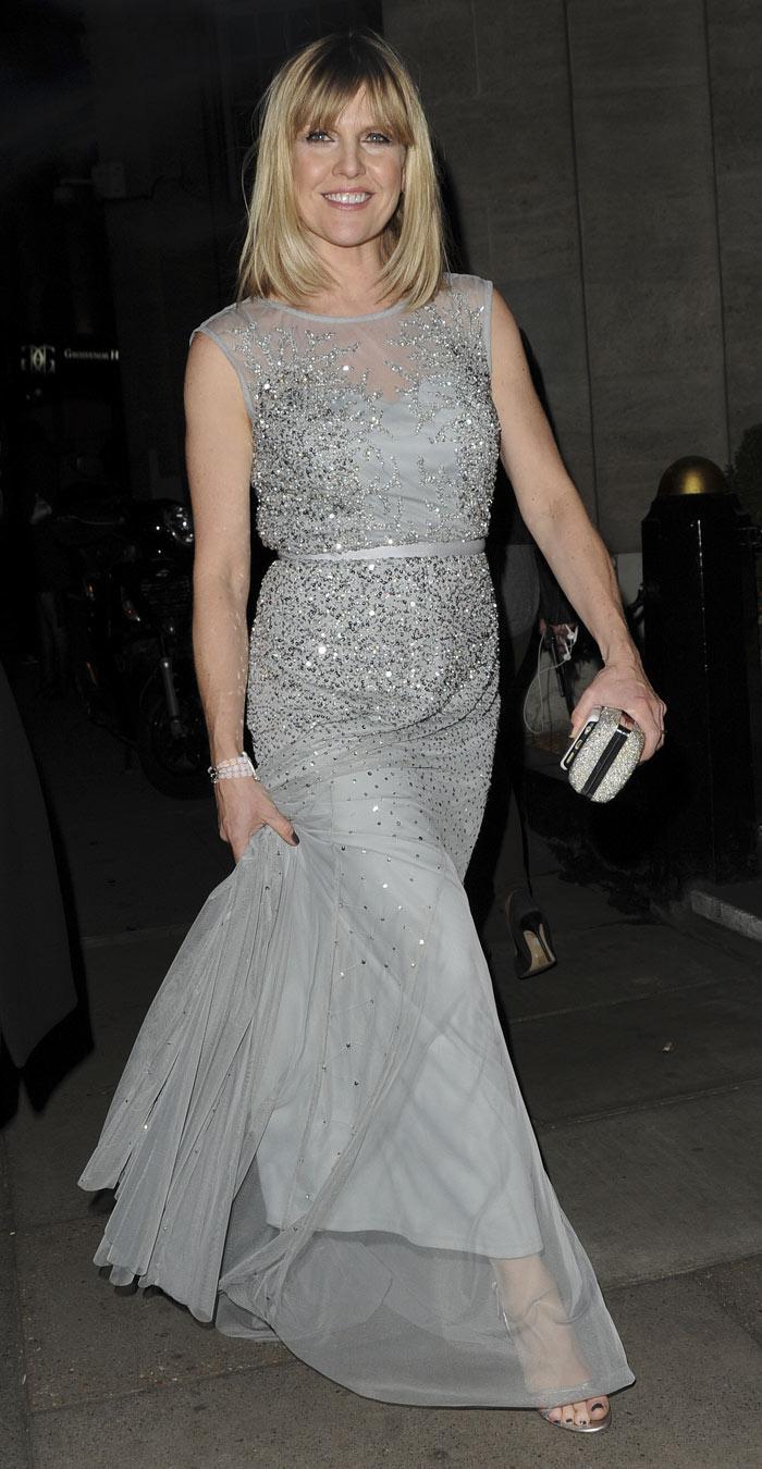 Agatha Raisin's Ashley Jensen at the 2016 Royal Television Society Awards, London, UK, March 2016