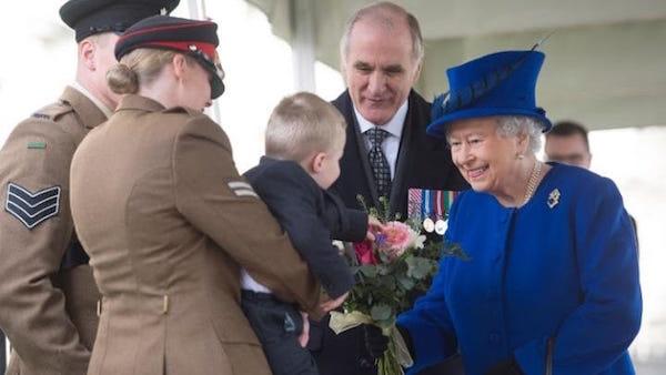Queen Elizabeth II - Child