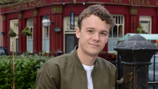 EastEnders 2016/2017: Johnny Carter (Ted Reilly) Photo: Nicky Johnston (C) BBC 2016