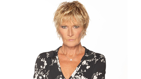 EastEnders 2016/2017: Shirley Carter (Linda Henry) Photo: Nicky Johnston (c) BBC 2016
