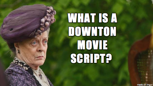 Maggie Smith - Downton Abbey Movie