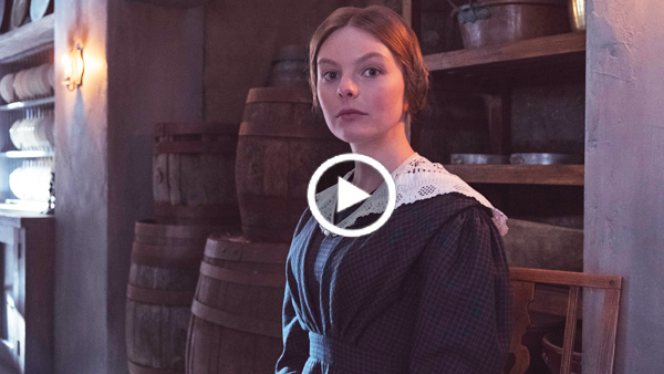 Victoria Extras: Nell Hudson is Skerrett