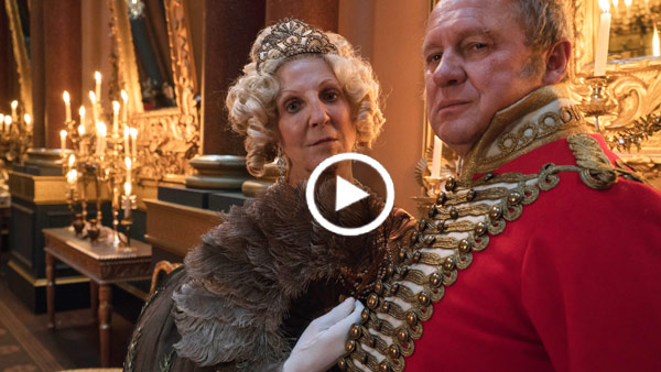 Victoria Extra: Peter Firth and Nichola MacAuliffe are the Duke and Duchess of Cumberland
