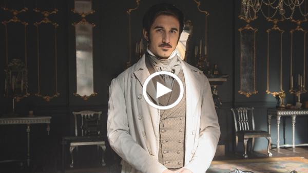 Victoria Extras: Ferdinand Kingsley is Francatelli