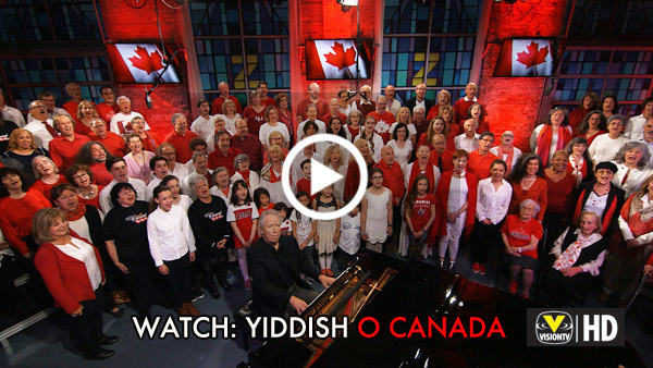 Watch Yiddish O Canada