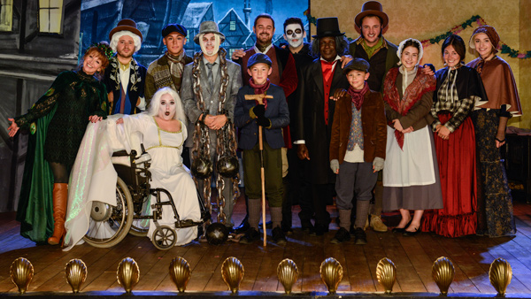 EastEnders (June/July 2017): The Walford Players as the cast of A Christmas Carol Photo: Kieron McCarron (c) BBC 2016