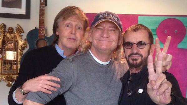 Ringo, Paul & Joe Walsh