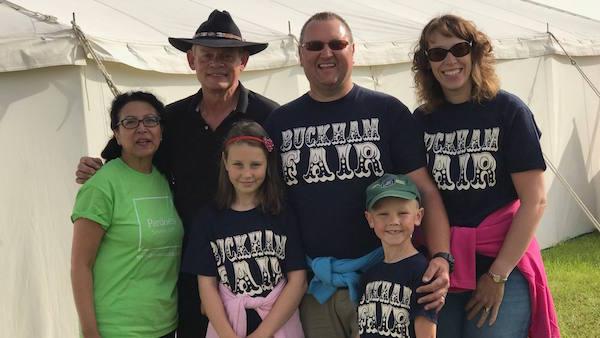 Buckham Fair 2017 - Martin Clunes