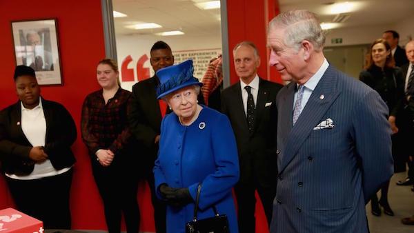 Queen Elizabeth II & Prince Charles