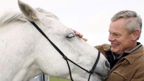 Martin Clunes - Doc Martin - Horse