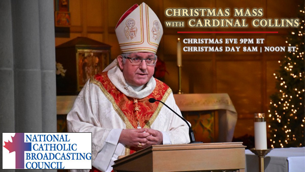 2017 Christmas Mass on VisionTV