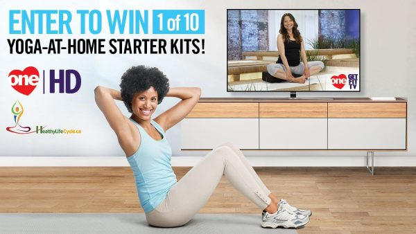 ONE Get Fit TV Yoga at Home Contest - Healthy Life Cycle
