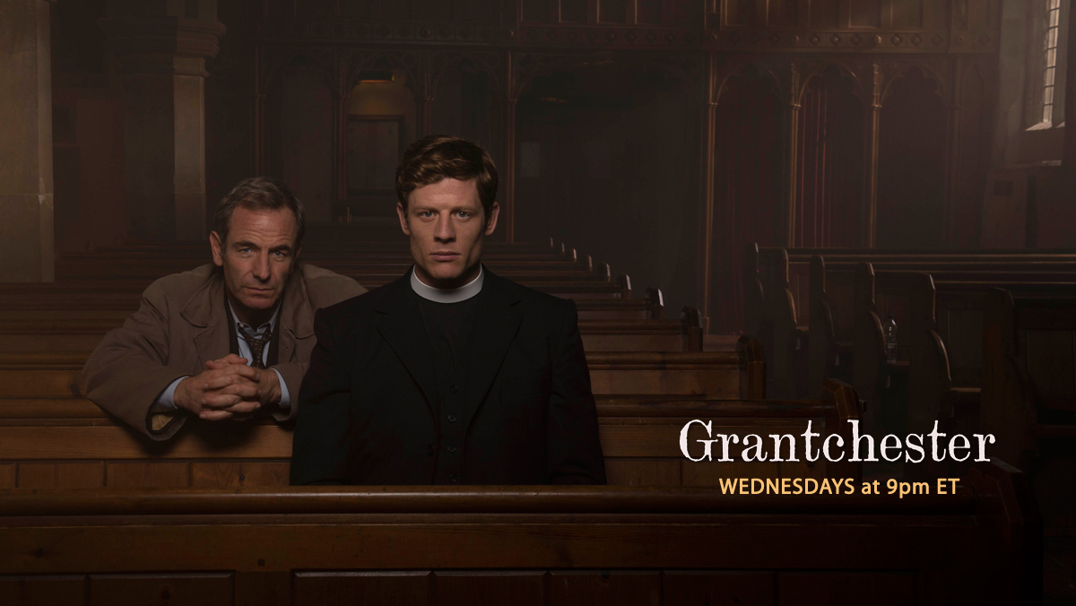 Grantchester on VisionTV