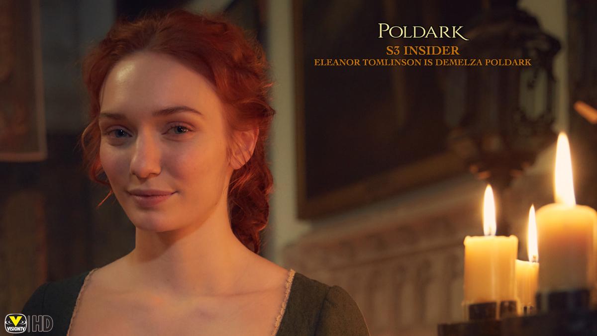 Poldark Insider S3: Eleanor Tomlinson is Demelza Poldark