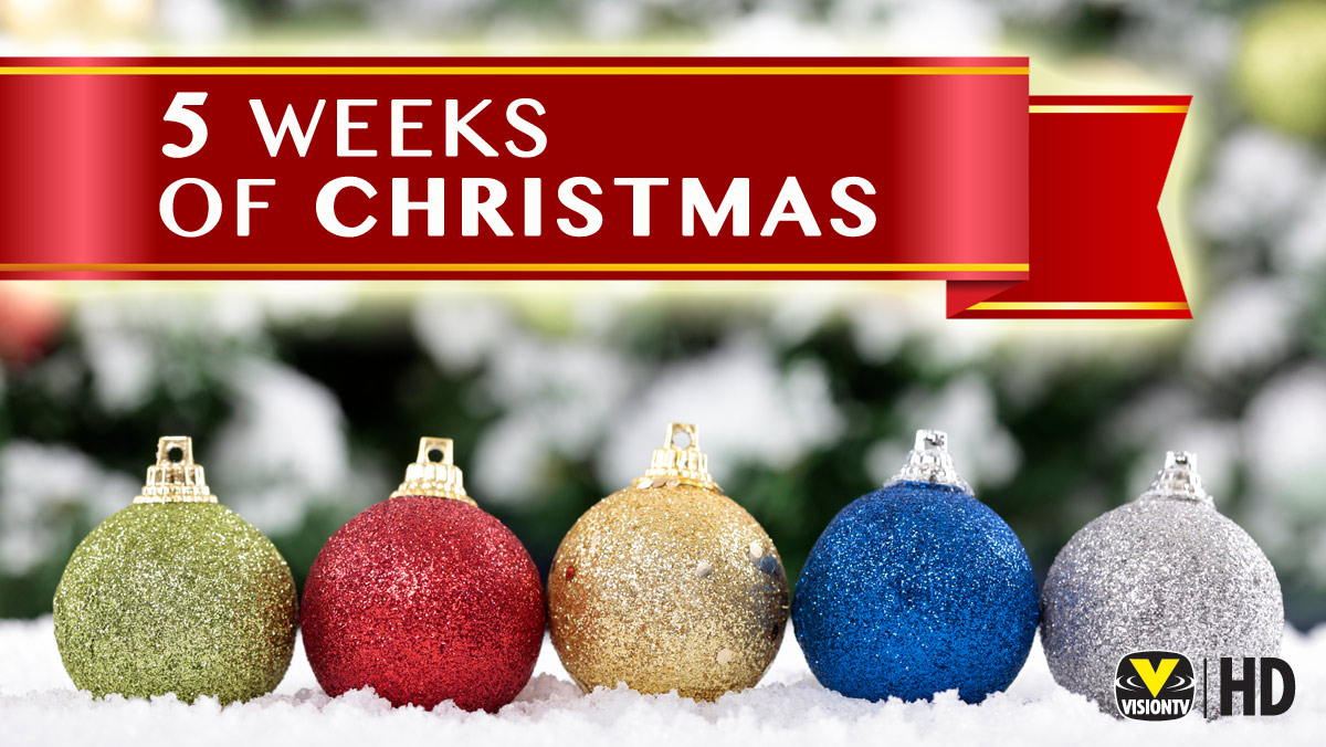 5 Weeks of Christmas on VisionTV