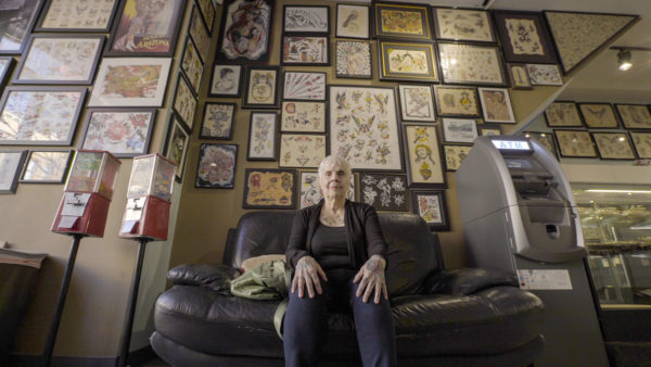 Radical Age: 84 year old Helen Lambin at Chicago Tattoo Co