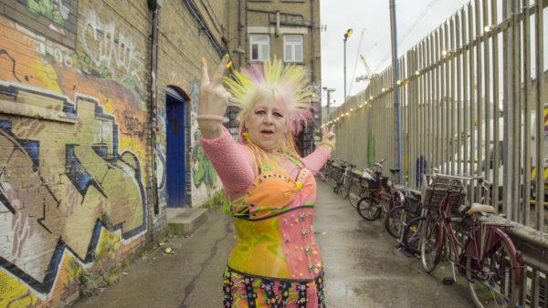 Radical Age: Zillah Minx on the street of Camden London