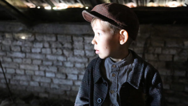 The Good Nazi: During WWII, a child hides from the Nazis at the HKP labour camp. (Recreation at the actual site).