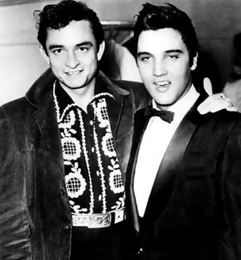 Johnny-Cash-and-Elvis-Presley 1956