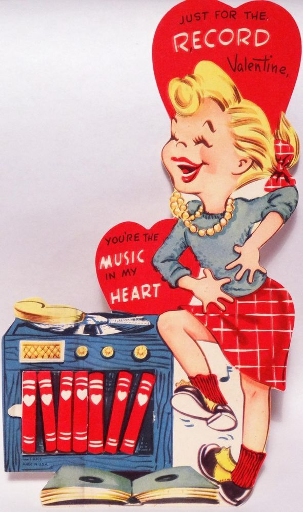 Vintage Valentine S Day Cards Zoomer Radio Am740