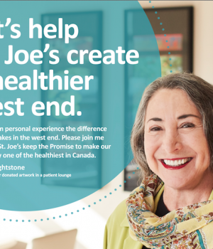 Maria Dyck, CEO of St. Joseph's Health Care Foundation joins The Happy Gang