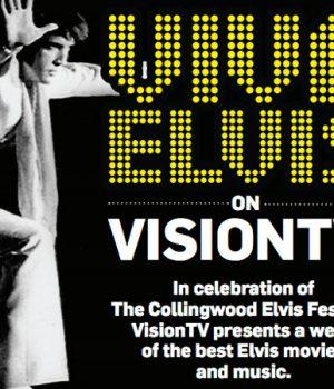 Hey Elvis Fans! It's VIVA ELVIS on Vision TV