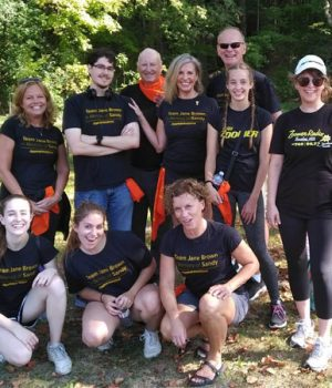 TEAM JANE BROWN SHATTERS $7000 GOAL FOR THIS YEAR'S BLADDER CANCER AWARENESS WALK