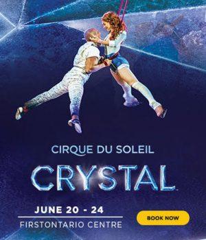 Win Tickets to Cirque du Soleil: Crystal