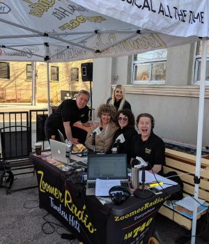 The Happy Gang Celebrated Spring with a Live Broadcast in Liberty Village!