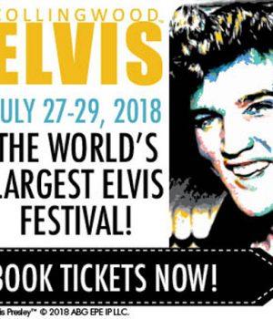 Find us at the 2018 Collingwood Elvis Festival