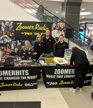 Afternoon Express are LIVE at the Yonge Eglinton Centre today!