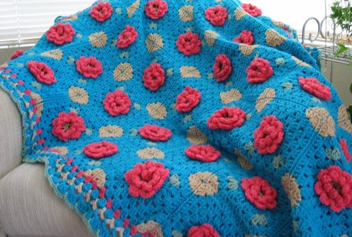 Seasons Afghan Free Crochet Pattern