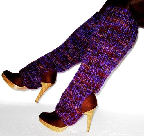 Easy Peasy Leg Warmers – FREE Knitting Pattern – Planet Purl