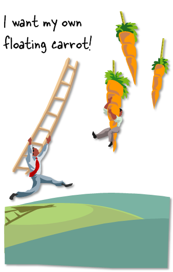 The Rapid E-Learning Blog - floating carrots