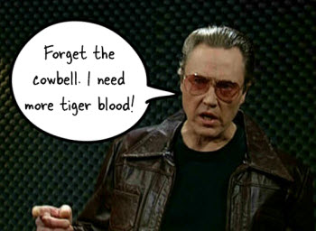 The Rapid E-Learning Blog - forget the cowbell. Winners need more tiger blood.