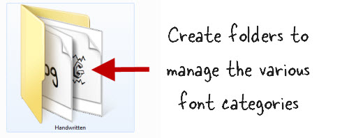 The Rapid E-Learning Blog - create folders for your fonts