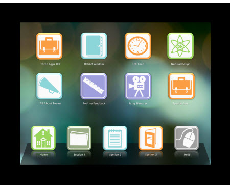 The Rapid E-Learning Blog - iPad inspired PowerPoint template