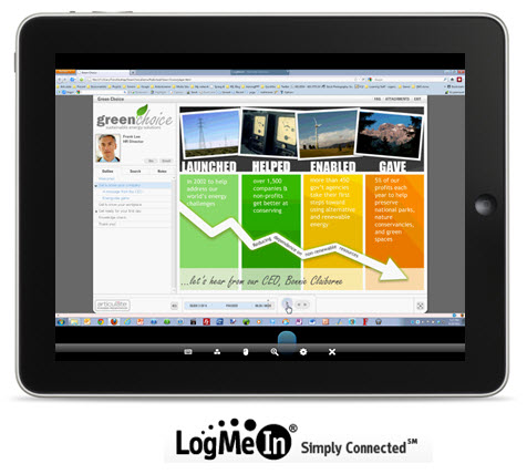 The Rapid E-Learning Blog - LogMeIn is an inexpensive way to view the courses via remote desktop