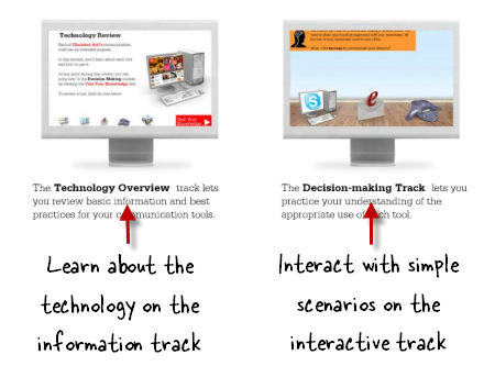 The Rapid E-Learning Blog - two tracks for elearning