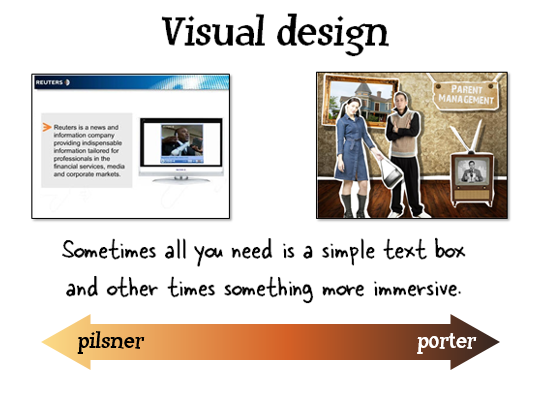 The Rapid E-Learning Blog - visual design is important