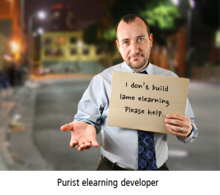 The Rapid E-Learning Blog - purist elearning developer looking for work