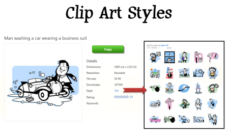 The Rapid E-Learning Blog - working with clip art styles