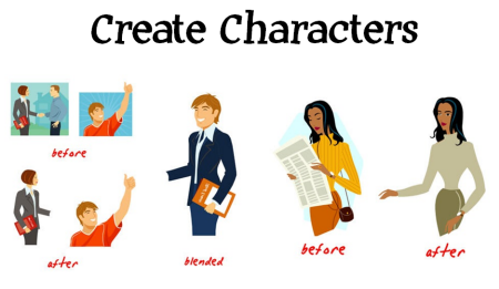 The Rapid E-Learning Blog - create custom people from clip art