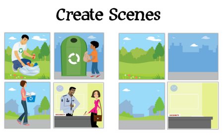 The Rapid E-Learning Blog - create scenes from your clip art