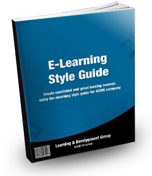 The Rapid E-Learning Blog - create an elearning style guide