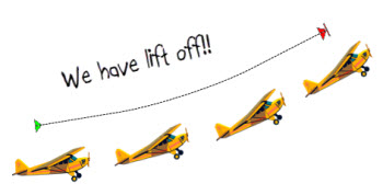The Rapid E-Learning Blog - lift off using PowerPoint's motion path animation